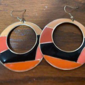 Jewelry - 🔴 3 for $15/Mod Retro earrings